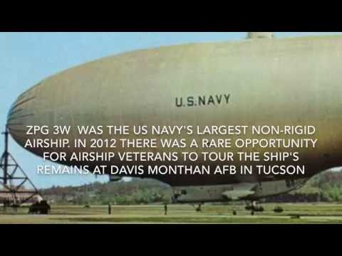 Tour Of The US Navy Airship ZPG 3W