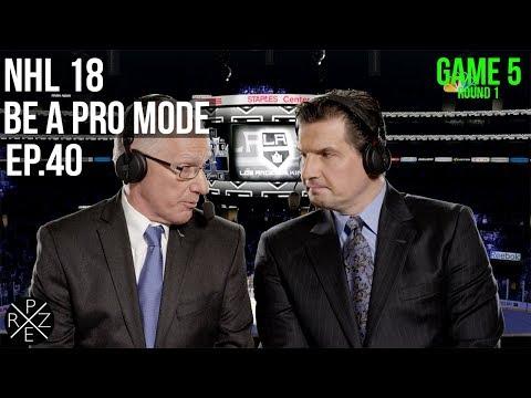 Los Angeles Kings vs Arizona Coyotes   NHL 18 Be A Pro Ep.40 (Xbox One X)