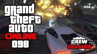 GTA ONLINE #098 - Motorrad-Crash & Balleraction [HD+] | Let's Play GTA Online
