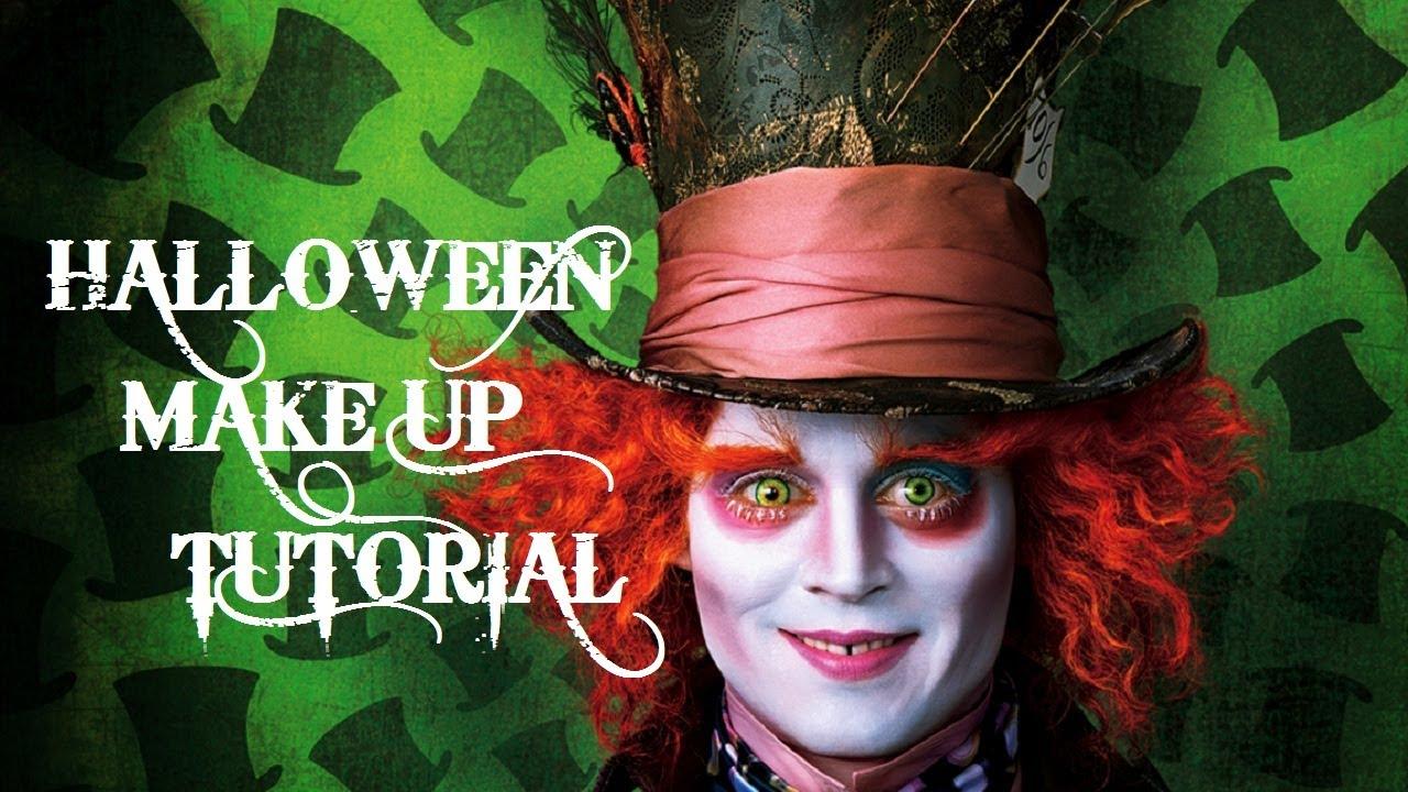 Halloween MakeUp Tutorial Poraccio - Tim Burton\'s ALICE IN ...