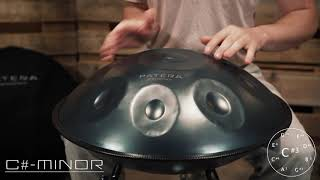 PATERA Handpan C# Minor // Steel Drum // Klangschale // Groove // Relax // Healing // Enjoy // PEACE