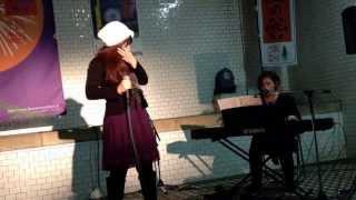 Vo.秋丸八恵子 Piano.権藤真弓 20131208@長岡市水道公園.