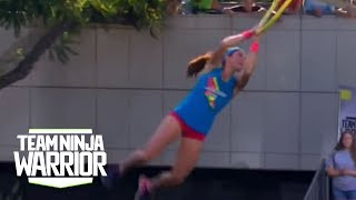 Season 2, Episode 11: Jesse Labreck Flies Through The Course | Team Ninja Warrior