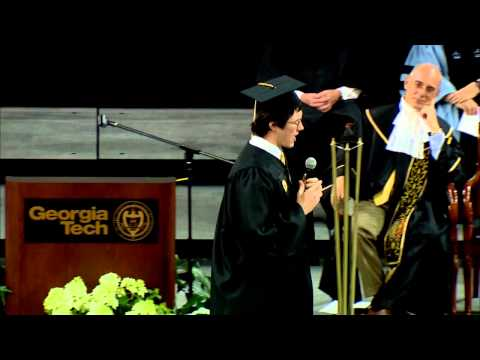 Georgia Tech Freshman Convocation - Epic Sophomore Welcome Speech - Full Version