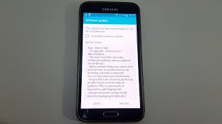 New Update Samsung Galaxy S5 Android 6.0.1 Marshmallow - Review