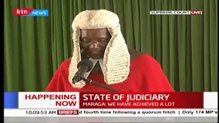 CJ Maraga: Backlog of cases one of persistent challenges in justice system
