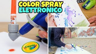 COLOR SPRAY ELETTRONICO Crayola: super creazione GBR