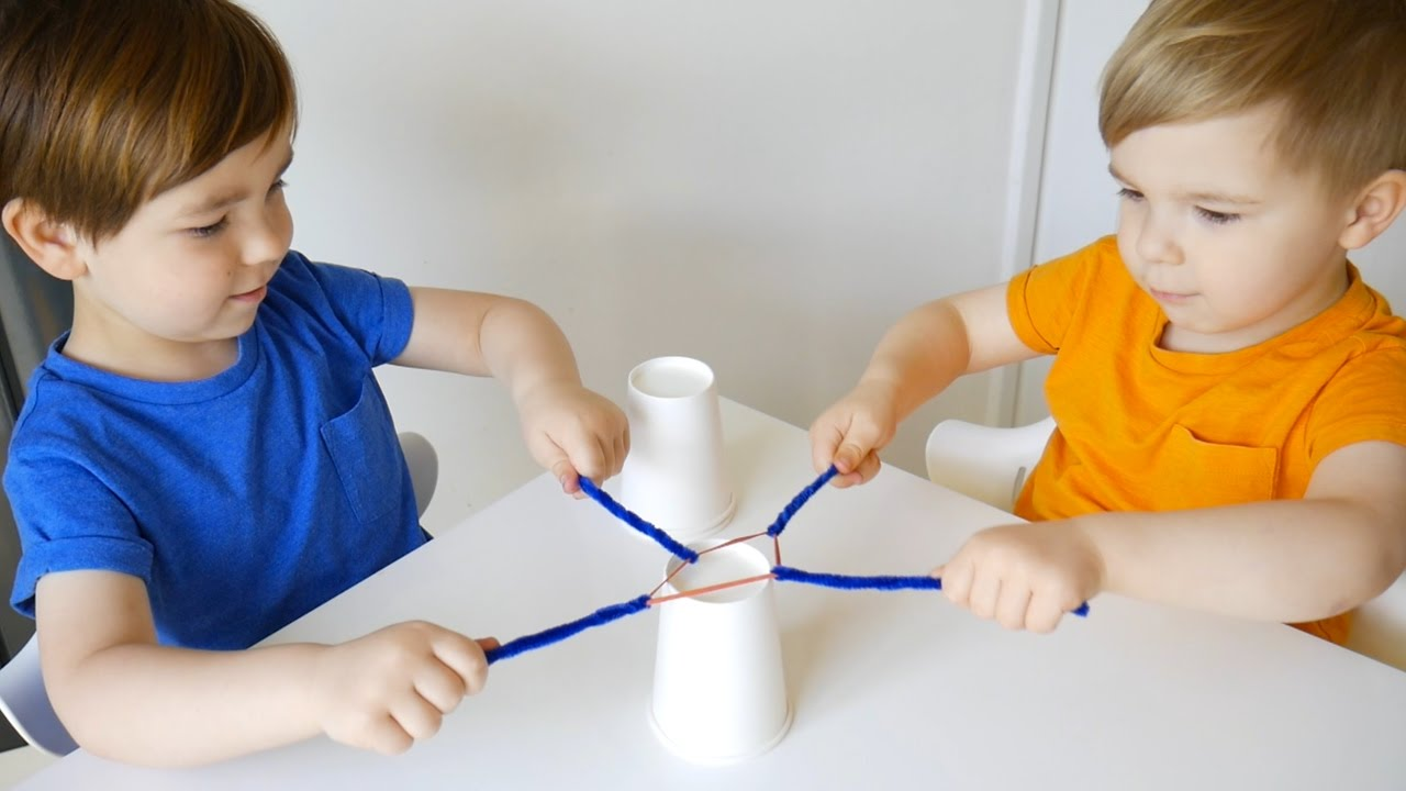 Teamwork Activities for Kids - YouTube
