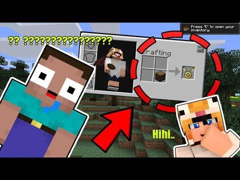 TROLL NOOB MẮT TO BẰNG CÁCH CRAFT ĐỒ HƯ CẤU !! (Minecraft Hư cấu #1)