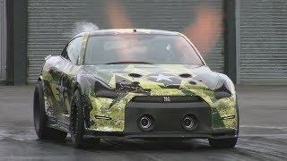 2500HP+ Nissan R35 GT-R at Santa Pod Raceway - Materialmord Racing