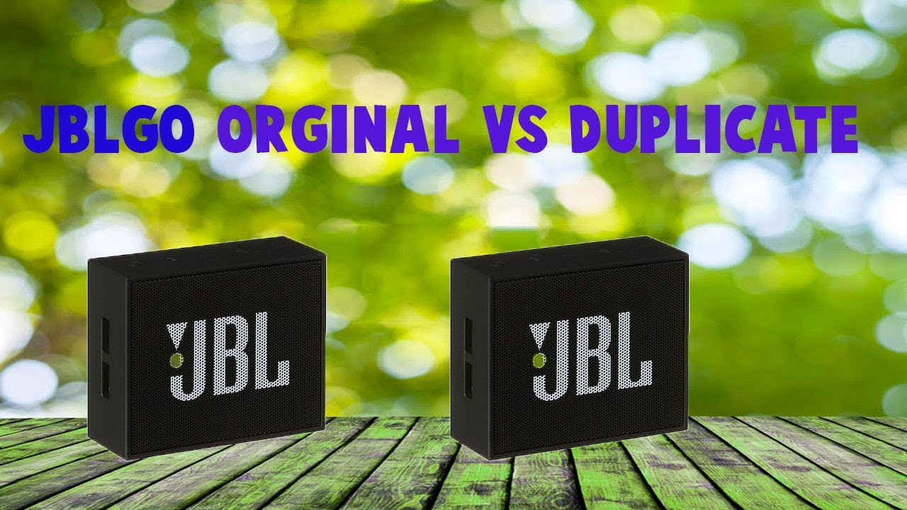 jbl go duplicatefake vs original youtube. Black Bedroom Furniture Sets. Home Design Ideas