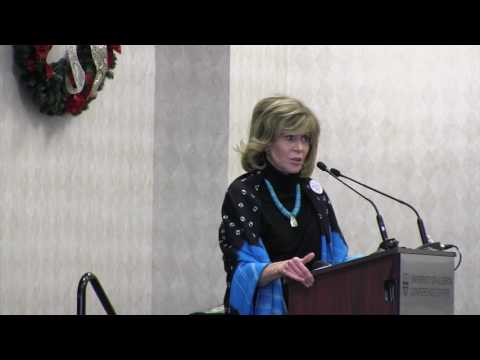 Jane Fonda - Panel Discussion on Pipelines