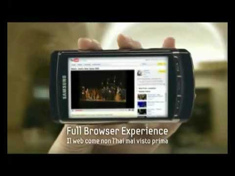 Samsung Omnia HD - Promo Video