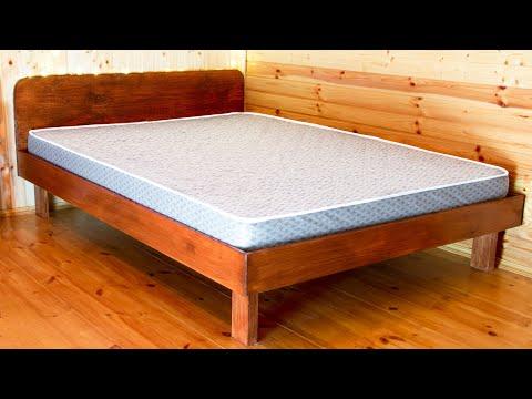 Как сделать кровать двухспалку своими руками