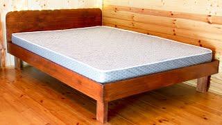 как сделать каркас кровати