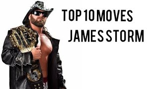 Top 10 Moves of James Storm