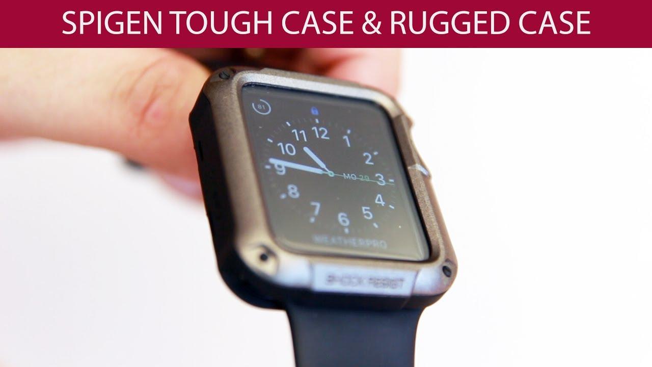 new arrival 0bb78 82239 Spigen Tough Armor Apple Watch / Apple Watch 2 Test Review Deutsch