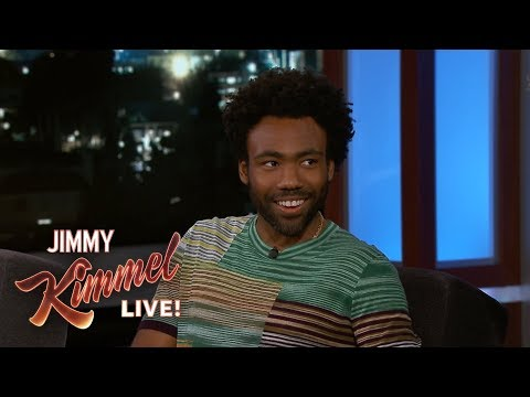 Donald Glover on Singing with Stevie Wonder