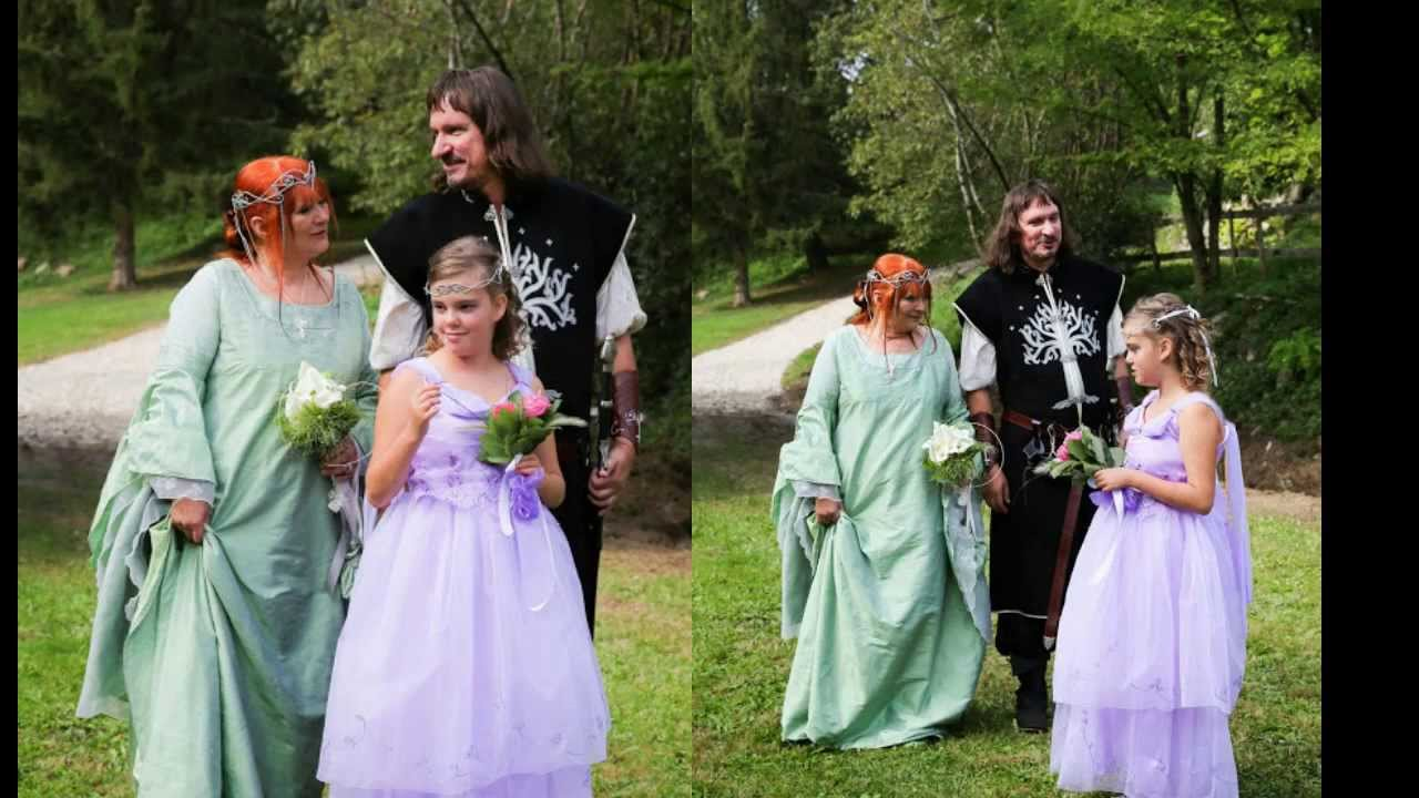 MARIAGE CELTIQUE Handfasting - YouTube