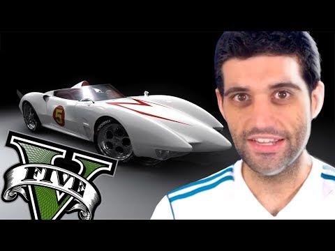 GTA V - CARRO NOVO TURBINADO DO SPEED RACER, INCRIVEL