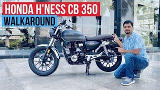 Honda Highness (H'Ness) CB350 Enfield/Jawa Rival - Exclusive Walkaround