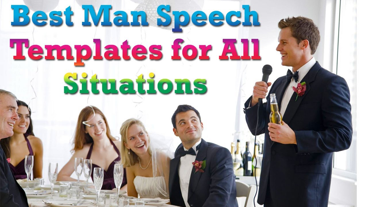 best man starting speeches A best man speech should be fun the dos and don'ts of a best man speech while people start wondering if the bar is open for refills.