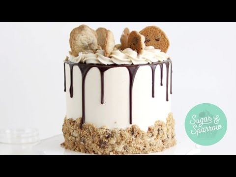How To Make A Milk & Cookies Cake