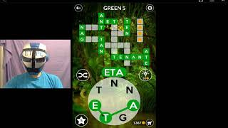 WORDSCAPES GREEN 5 ANSWERS