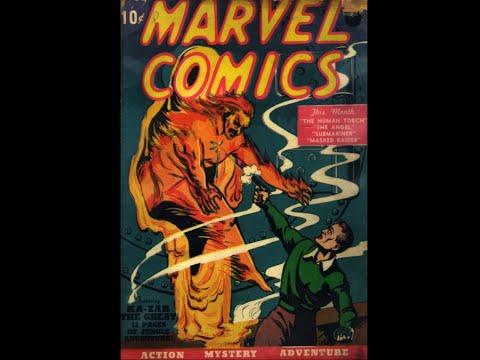 The Human Torch: Marvel Comics # 01