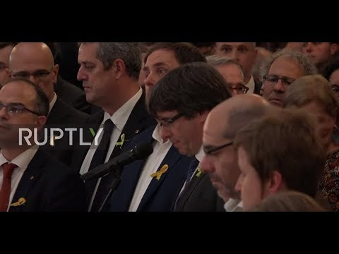 Spain: Puigdemont praises 'long expected' Catalan parliament independence vote