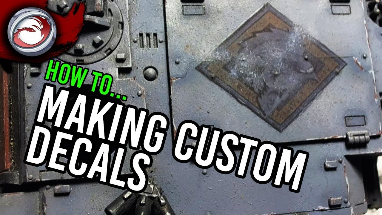How to make custom decals
