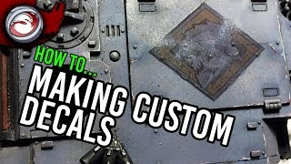 How To: Make Custom Decals