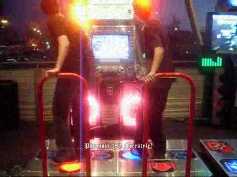 DDR at Playdium: Paranoia 180 Freestyle???