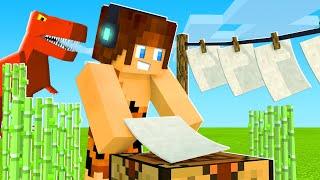 O PAPEL QUE DA VIDA AOS DINOSSAUROS !! - Minecraft Dinossauros #09
