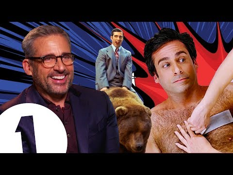 """It was TERRIFYING!"" Steve Carell on riding a bear in Anchorman and THAT chest-waxing scene."