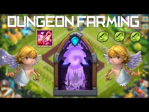 Dungeon Farming For Cupid's Arrow!!!!