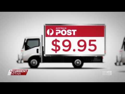 A Current Affair Australia Post Shipster Cheap Shipping Launch Oct 2017