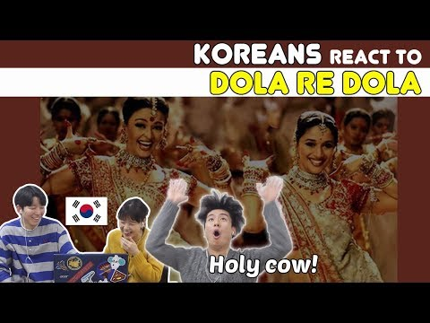 Koreans React To Dola Re Dola (Devdas) Ι Aishwarya Rai & Madhuri Dixit