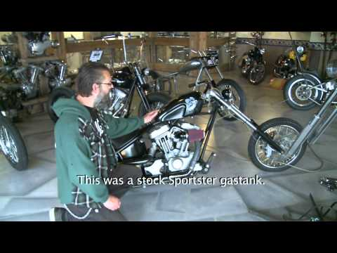Harley-Davidson Sportster turns into a KICK-ASS Chopper