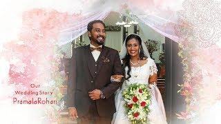 Pramela Rohan Christian Wedding Helicam Video Highlights!