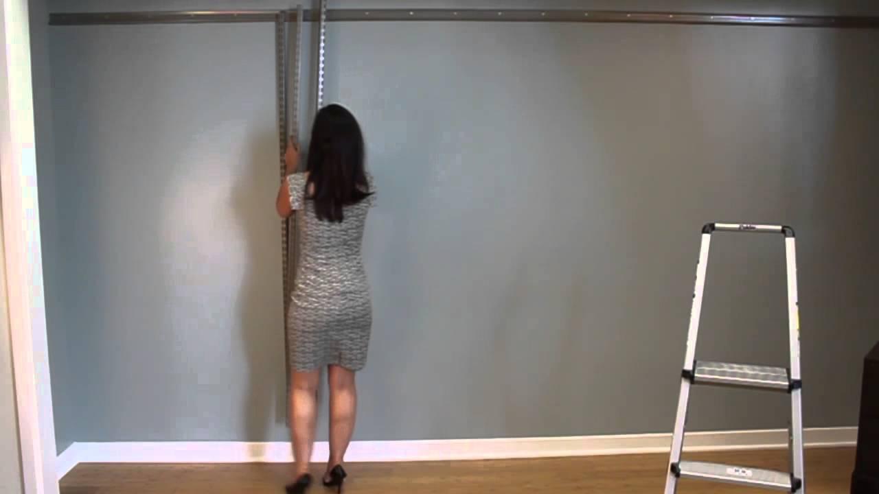 Installing FreedomRail With Amanda LeBlanc   OrganizedLiving.com