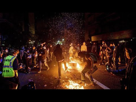 Миннеаполис: протесты не стихают