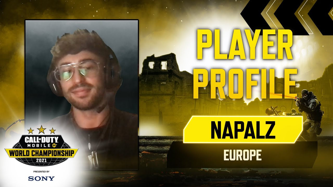 Player Profile: Napalz - Europe | Call of Duty®: Mobile World Championship 2021