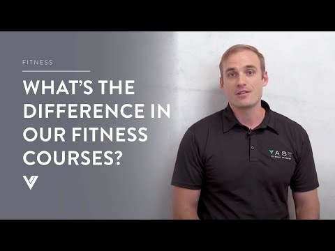 What is the difference in our Fitness courses?