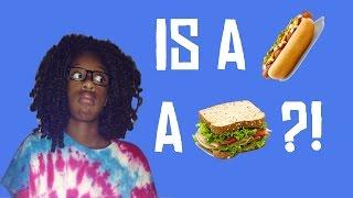 Is A Hot Dog A Sandwich?!