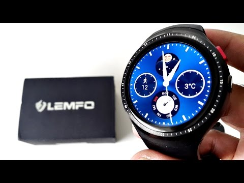 2017 Powerful Android Smart Watch LEMFO LES1  - QUAD CORE -