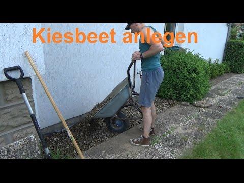Kiesgarten anlegen Kiesbeet selber machen anlegen ...