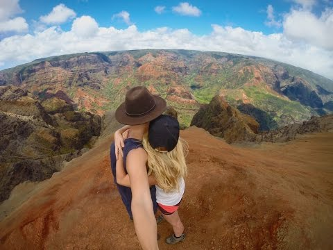 UNBELIEVABLE Waimea Canyon // DRONE + GOPRO // Kauai - HAWAII [HD]