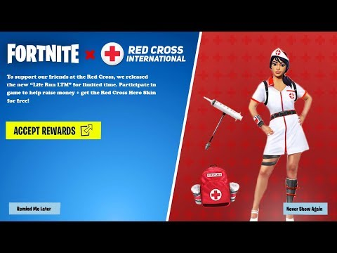 Fortnite x Red Cross : Event Reveal