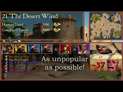 21. The Desert Wind - As unpopular as possible! | Stronghold Crusader